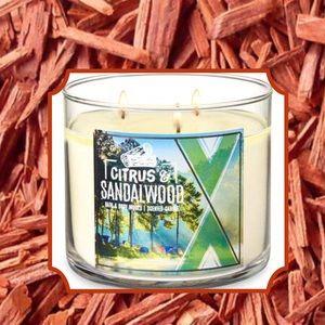"NEW ""Citrus & Sandalwood"" Candle"